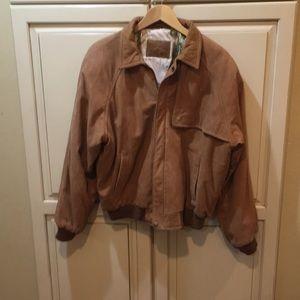 Vintage 80s 90s Marlboro leather jacket s
